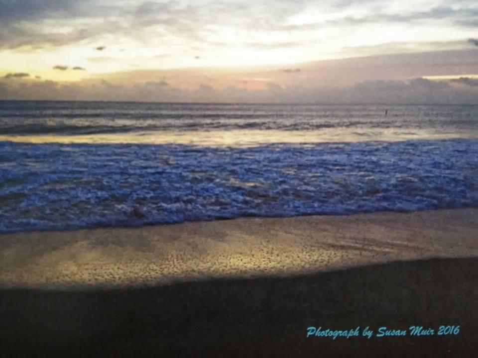 Horizontal sunrise cover
